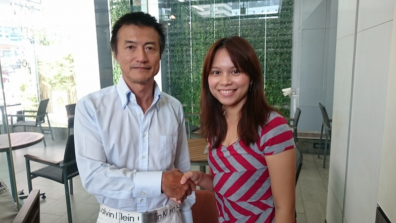 バンコクでマネーの虎の南原さんに会いました!
